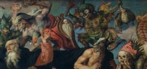 ფრაგმენტი ანტონის ცხოვრებიდან, მარტენ დე ვოსი (XVI ს.).