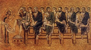 unknown-Italian-mosaic-artist-early-13th-century-venice-I-christ-washing-the-feet-of-his-disciples
